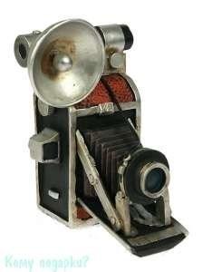 Копилка-ретро «Фотоаппарат», 14x13x18 см - фото 43919