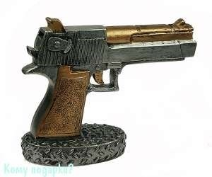 Копилка «Пистолет», 22х8х17 см - фото 43974