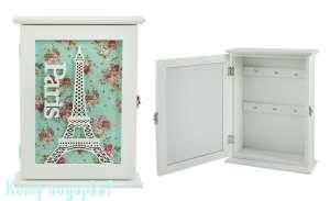 "Ключница ""Париж"", 22x6x30 см - фото 44216"