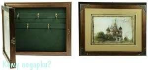 Коллаж-ключница 3D «Храм Василия Блаженного», 32x26x5 см - фото 44281