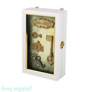 Коллаж-ключница «Ключики», 15x7x25 см - фото 44306