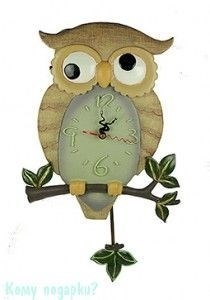 Часы настенные «Сова», 28x47x5 см - фото 44326