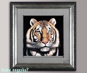 Панно 3D «Тигр», 49х49 см - фото 44330