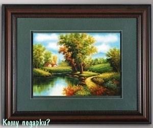 Панно 3D «Пейзаж», 46х57 см - фото 44343