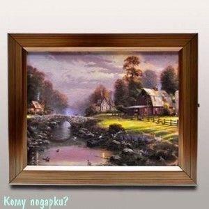 Ключница «Деревенский домик», 26x21 см - фото 44701