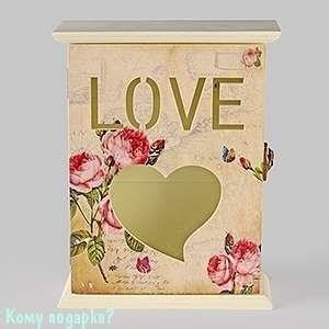 Ключница «Любовь», 17х22х5 см - фото 44710