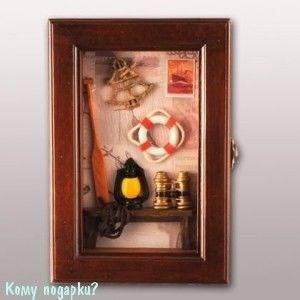 Ключница «Морская», 25х17х6 см - фото 44711