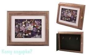 Коллаж-ключница 3D «Весенний букет», 29x24 см - фото 44817