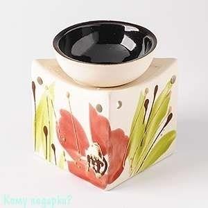 Аромалампа «Кубик», керамика, роспись - фото 46817