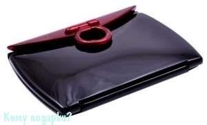 """Зеркало """"Black&Red"""", компактное, 3-кратное увеличение - фото 47440"""