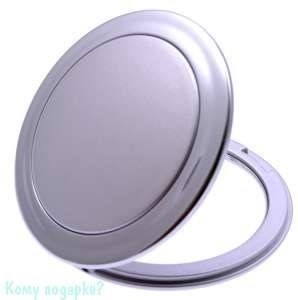 """Компактное зеркало """"Silver"""", 3-кратное увеличение - фото 47479"""