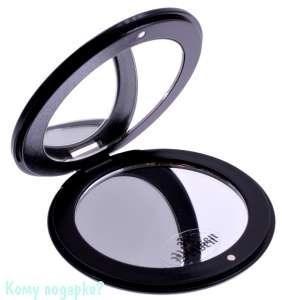 "Компактное зеркало ""Black&White"", 3-кратное увеличение - фото 47485"