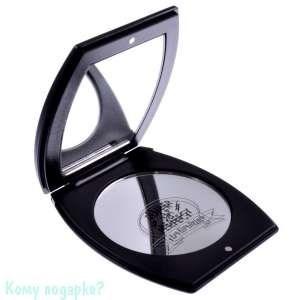 """Компактное зеркало с кристаллами """"Black"""", 3-кратное увеличение - фото 47495"""
