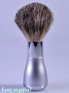 """Помазок для бритья """"Silver  (Gillette Mach-3)"""" - фото 47499"""