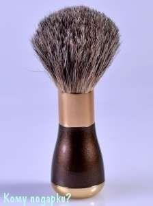 "Помазок для бритья ""Bronze&Gold (Gillette Mach-3)"" - фото 47501"