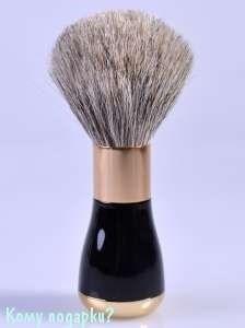 """Помазок для бритья """"Black&Gold (Gillette Mach-3)"""" - фото 47503"""