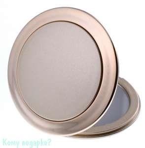 """Компактное зеркало """"Gold"""", 3-кратное увеличение - фото 47604"""
