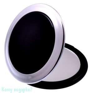 """Зеркало компактное """"Black"""", 3-кратное увеличение - фото 47605"""
