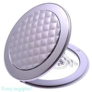 """Зеркало """"Silver"""", компактное, 3-кратное увеличение - фото 47610"""