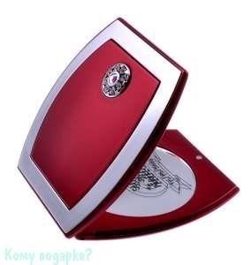 """Зеркало с кристаллами """"Red"""", компактное - фото 47630"""