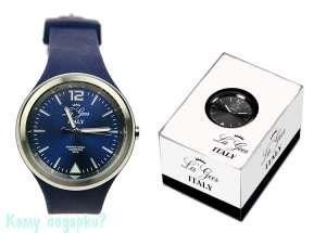 Часы наручные La Geer, d=4 см, синие - фото 48276