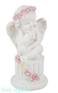 Фигурка «Мечтательный ангел», коллекция «amore», h=15 см - фото 48478