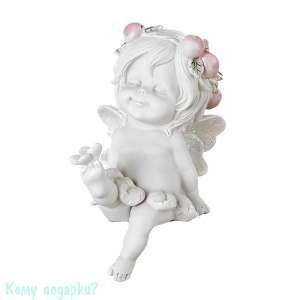 Фигурка «Маленькая девочка-ангел», коллекция «amore», 9x6x16 см - фото 48504