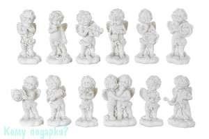 Комплект фигурок из 12 шт. «Знаки зодиака»,  коллекция «amore», 3x1x6 см - фото 48509