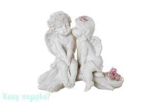Фигурка «Влюбленные ангелы», коллекция «amore», 13x7x13 см - фото 48525