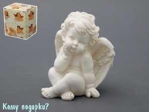 Фигурка «Ангелочек», коллекция «amore», h=11 см - фото 48587