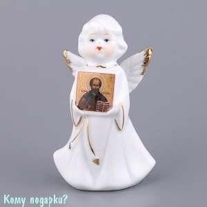Фигурка «Ангел с иконой», h=10 см - фото 48592