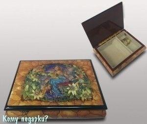 """Шкатулка для ювелирных изделий """"Фея"""", 21x16x6 см - фото 49923"""