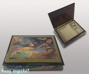 Шкатулка для ювелирных украшений, 21x16x6 см - фото 49924