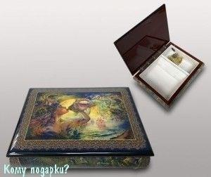 Шкатулка для ювелирных изделий, 21x16x6 см - фото 49925