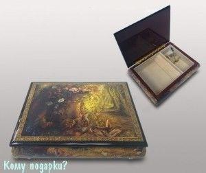 """Шкатулка для ювелирных изделий """"Лесная сказка"""", 21x16x6 см - фото 49930"""