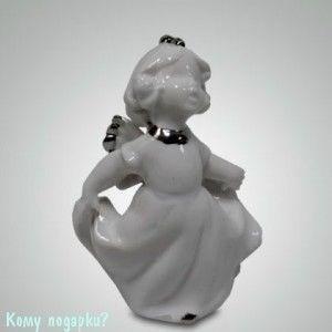 """Статуэтка """"Ангелочек"""", h=10 см, белый - фото 49990"""
