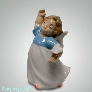 Статуэтка «Ангелочек», h=9,5 см - фото 49991