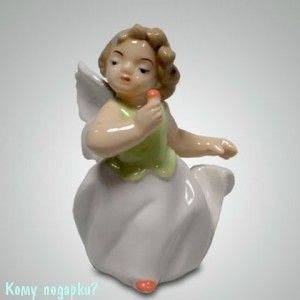 Статуэтка «Ангелочек», h=9 см - фото 49992
