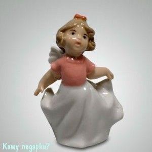 Статуэтка «Девочка-ангелочек», h=10,5 см - фото 49993