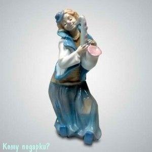 Статуэтка «Клоун с саксофоном», h=26 см - фото 49998