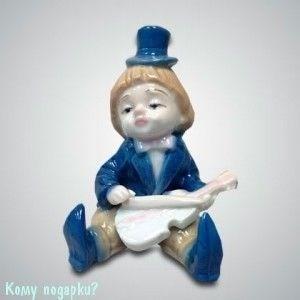 Статуэтка «Клоун со скрипкой», h=10 см - фото 50001