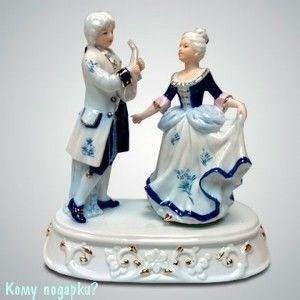 Статуэтка музыкальная «Пара на балу», 20x17 см - фото 50003