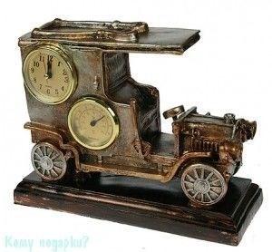 Часы-термометр «Автомобиль» настольные, 26x20x10 см - фото 50073