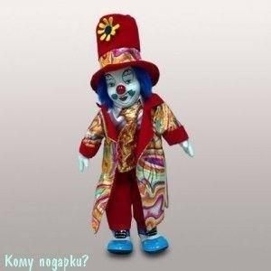 """Фигурка """"Клоун"""", h=30 см, красный - фото 50652"""