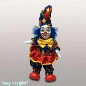 Фигурка «Клоун», h=18 см, разноцветный - фото 50655
