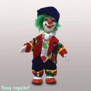 """Фигурка """"Клоун с зелеными волосами"""", h=16 см - фото 50659"""