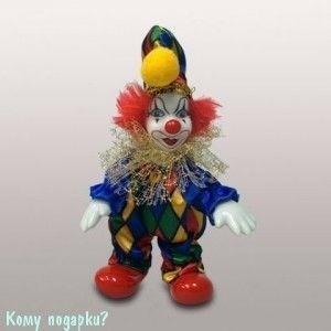 Фигурка «Клоун», h=12 см, разноцветный - фото 50663