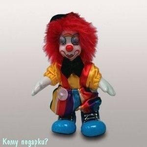 """Фигурка """"Клоун"""", h=10 см, разноцветный - фото 50671"""