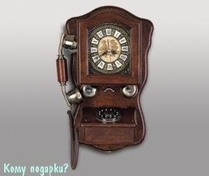 Ретро-телефон настенный, 28х14х47 см - фото 50757
