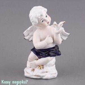 Фигурка «Ангел с голубем», h=19 см - фото 50814